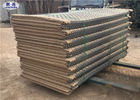 HDP Galvanized HESCO Barrier with Military Grenn color used for Flood retaining Wall